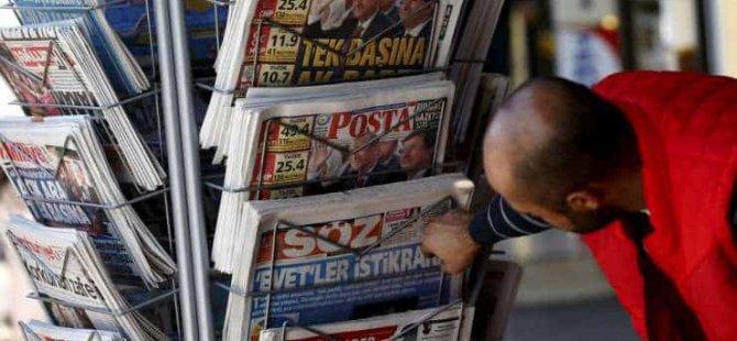 Türkiye'de bir yılda 100 gazete kapandı