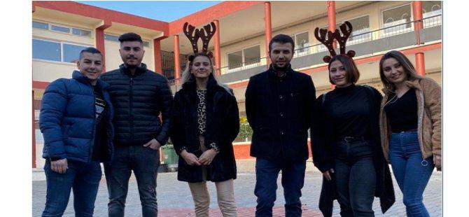 DAÜ öğrencilerinden  yeni yıl organizasyonu