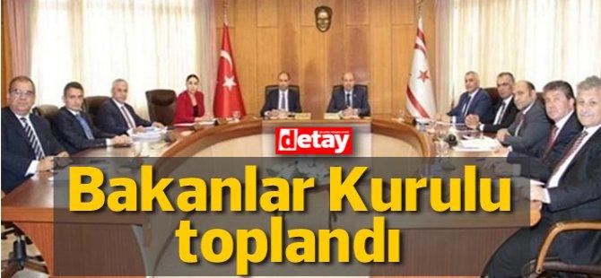 Toplantı öncesi Başbakan Tatar açıklama yapıyor (CANLI)