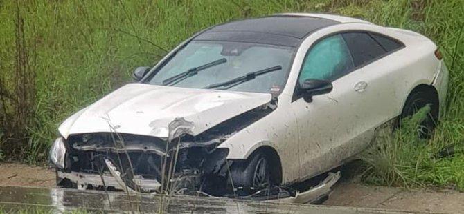 Lefkoşa-Girne yolunda trafik kazası