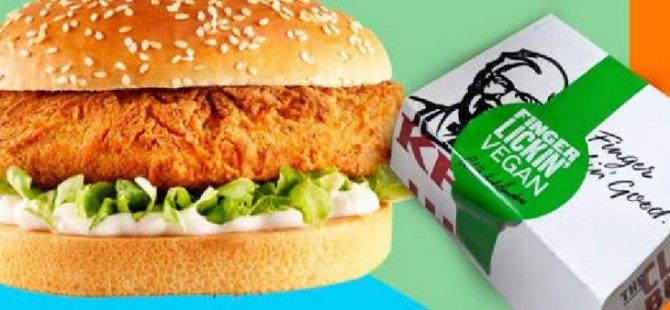 Vegan burgere tavuk karışmış olabilir