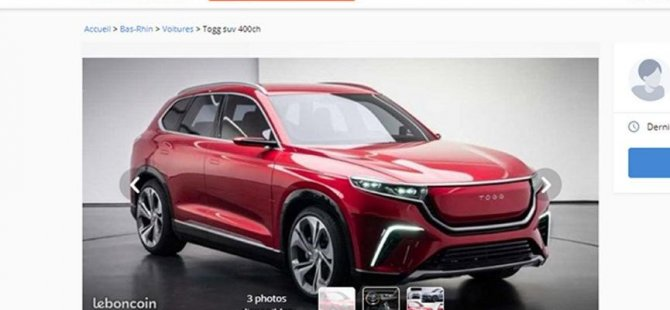 Türkiye'de Yerli otomobili sahte ilanla satışa çıkardılar