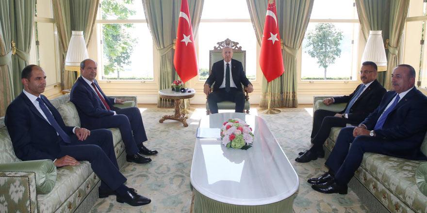 Tatar ve Özersay'ın randevusu Erdoğan ile... Davet Erdoğan'dan ...