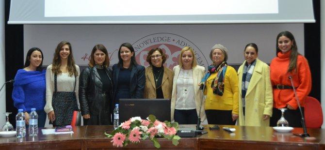 """DAÜ Temel Eğitim Bölümü """"Ev Içi Şiddet"""" konulu konferans düzenledi"""