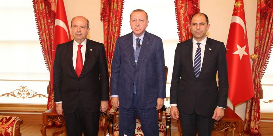 Erdoğan, Tatar, Özersay görüşmesi sona erdi