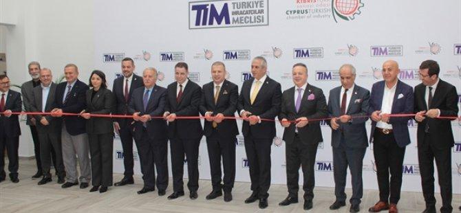 Türkiye İhracatçılar Meclisi'nin (TİM) Sanayi Odası'ndaki KKTC Ofisi törenle açıldı