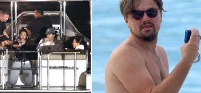 Boğulmak üzere olan bir adamın imdadına Leonardo DiCaprio yetişti