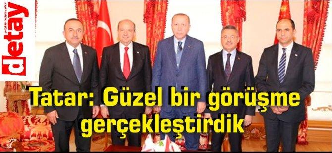 Tatar: Güzel bir görüşme gerçekleştirdik