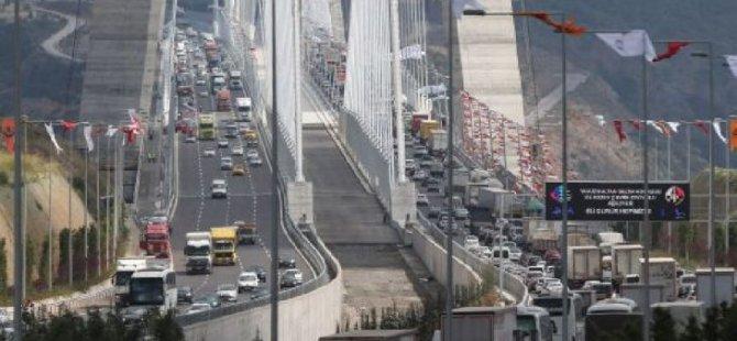 Yavuz Sultan Selim Köprüsü'nün Çinli şirketlere satışına onay çıktı