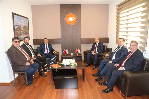 """YDP-UBP Görüşmesi Tamamlandı, Gündem  """"Çatı Aday"""""""