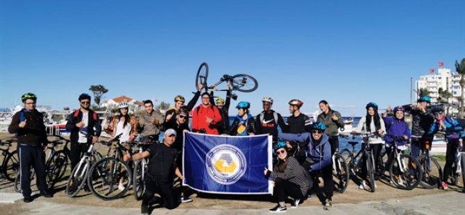 DAÜ YDİHO'dan bisiklet farkındalığı etkinliği