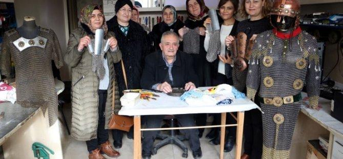Kadına şiddete karşı 'çeyizlik zırh' yapım kursu açıldı