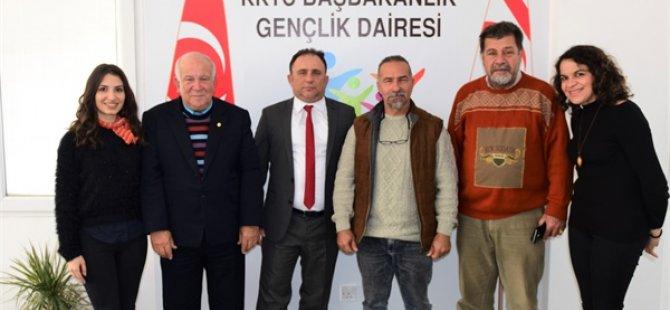 GÜSTEP'ten Gençlik Dairesi Müdürü Eren'e ziyaret