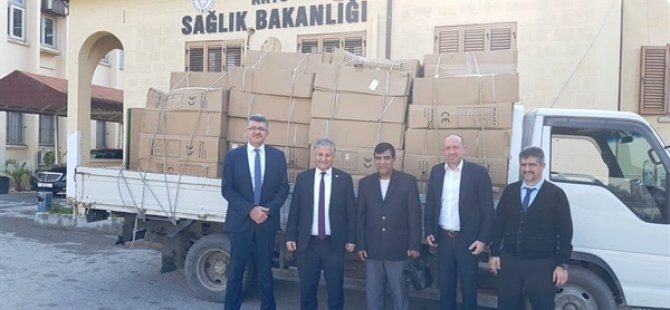 Chına Bazaar'dan Sağlık Bakanlığı'na 50 tekerlekli sandalye