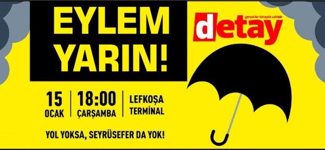 Eylem Yarın 18:00'da Lefkoşa Terminal'de