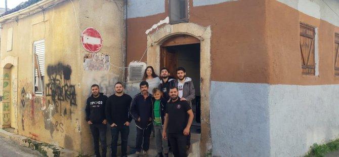 Beşiktaş'ın YDÜ Çarşı ve Çarşı KIBRIS taraftar grubu'ndan anlamlı etkinlik.
