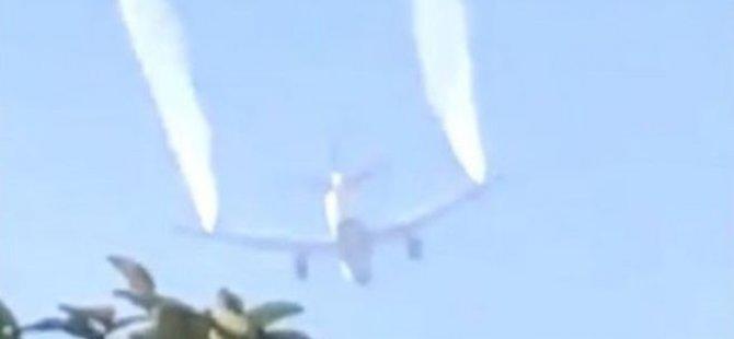 ABD'de acil iniş yapan yolcu uçağı yakıtını ilkokulun üstüne boşalttı: 17'si çocuk, 26 kişi yaralandı