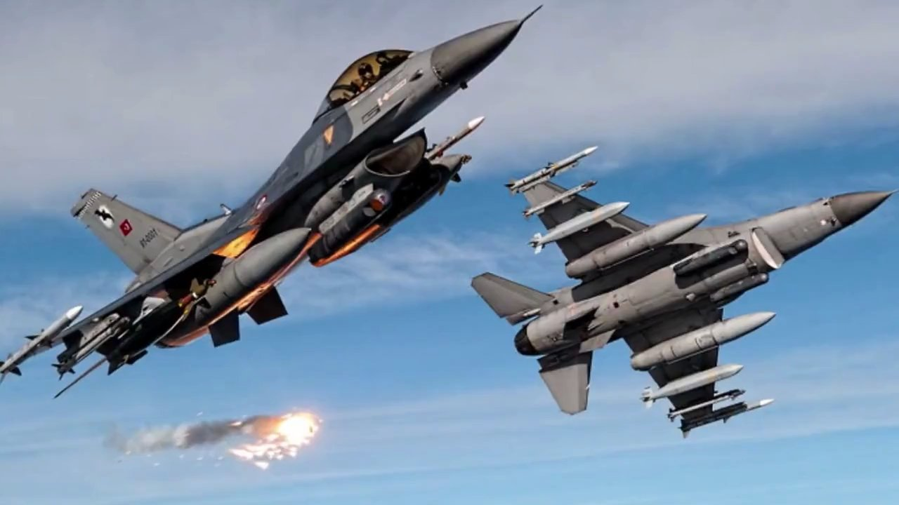 """Genel Kurmay'dan F16'lara """"VUR EMRİ"""""""