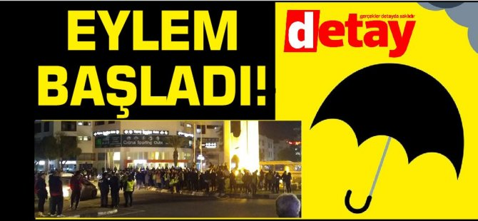 Kalabalık artıyor: Trafikte ölmek istemiyoruz pankartı açıldı