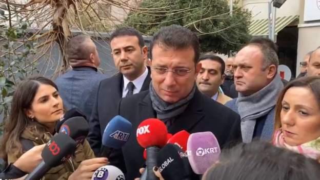 İmamoğlu, Kanal İstanbul'a ilişkin çevre düzeni planına itirazını yaptı, dava açacağını söyledi, İstanbullulara da çağrıda bulundu