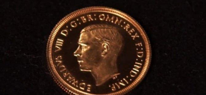 1 sterlinlik madeni para 1 milyon sterline satıldı