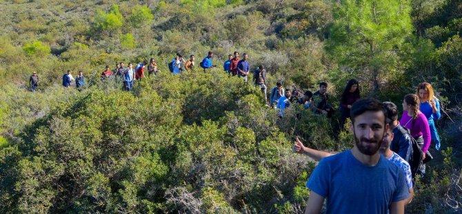 LAÜ öğrencileri Yeşilırmak ve Bademliköy'ün doğal güzelliklerine hayran kaldı