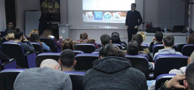 TRT Akademi Daü İletişim Fakültesi'nde Eğitim Verdi