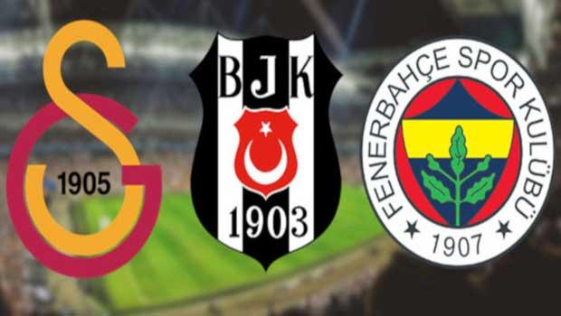 Galatasaray, Fenerbahçe ve Beşiktaş'tan KAP'a bildirim