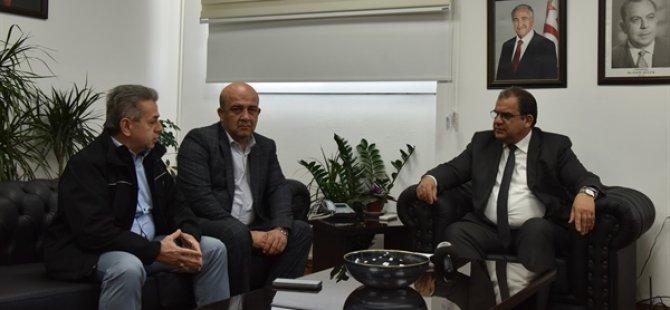 Çalışma Bakanı Sucuoğlu İyi  Toplum  Gönüllüleri Derneğini Kabul Etti