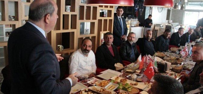 Tatar, 14 Sivil Toplum Örgütü Başkanı İle Bir Araya Geldi