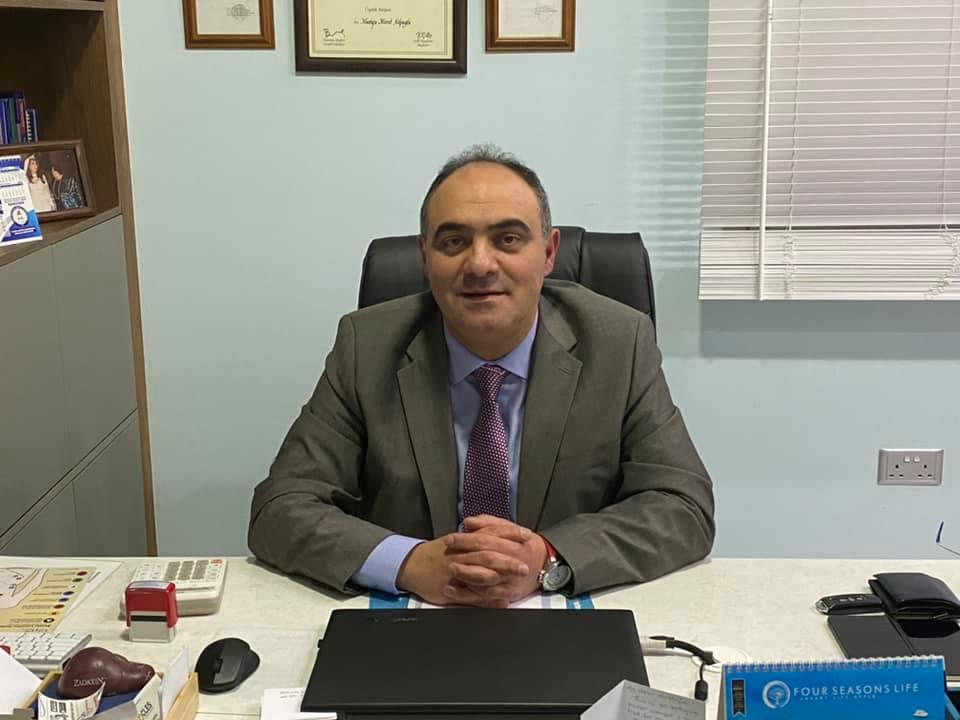 Mağusa Devlet Hastanesi'nin Başhekimi Mustafa Kalfaoğlu oldu