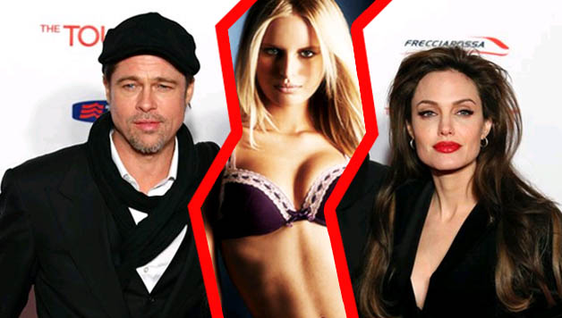 Angelina Jolie ve Brad Pitt ile Grup Seks
