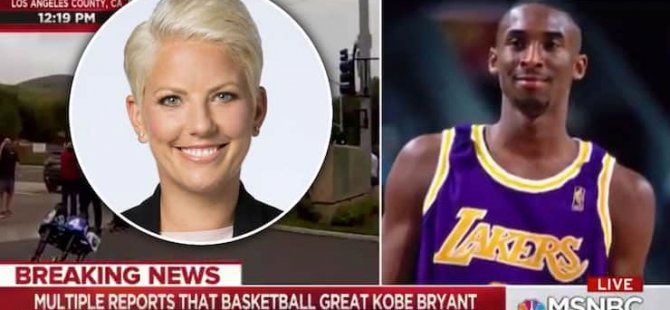 ABD'li sunucu Kobe Bryant'ın ölüm haberini sunarken ırkçı ifade 'nigger'ı kullandı; daha sonra özür diledi