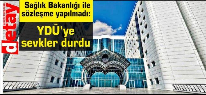 Yakın Doğu Üniversitesi Hastanesi ile Sağlık Bakanlığı arasındaki sözleşme yenilenmedi diye sevkler durdu