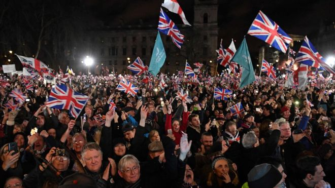 İngiltere AB'den ayrıldı, Başbakan Johnson Brexit için 'Son değil başlangıç' dedi