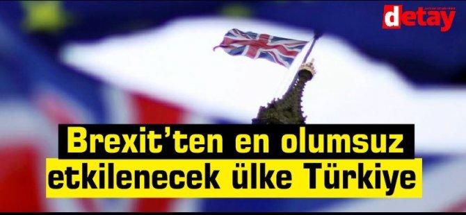Türkiye'nin AB'den sonra Brexit'ten en olumsuz etkilenecek ülke olacağı belirtiliyor
