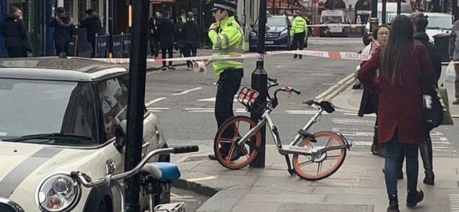 Londra'nın göbeğinde 2. Dünya Savaşı'ndan kalma patlamamış bomba bulundu