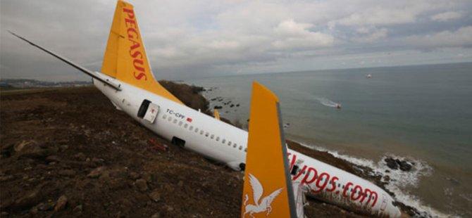 Son bir yılda 3 Pegasus uçağı pistten çıktı