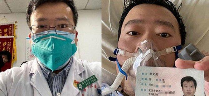 Çin'de  ortaya çıkan yeni tip Coronavirüsü ilk bilen Doktor hayatını kaybetti