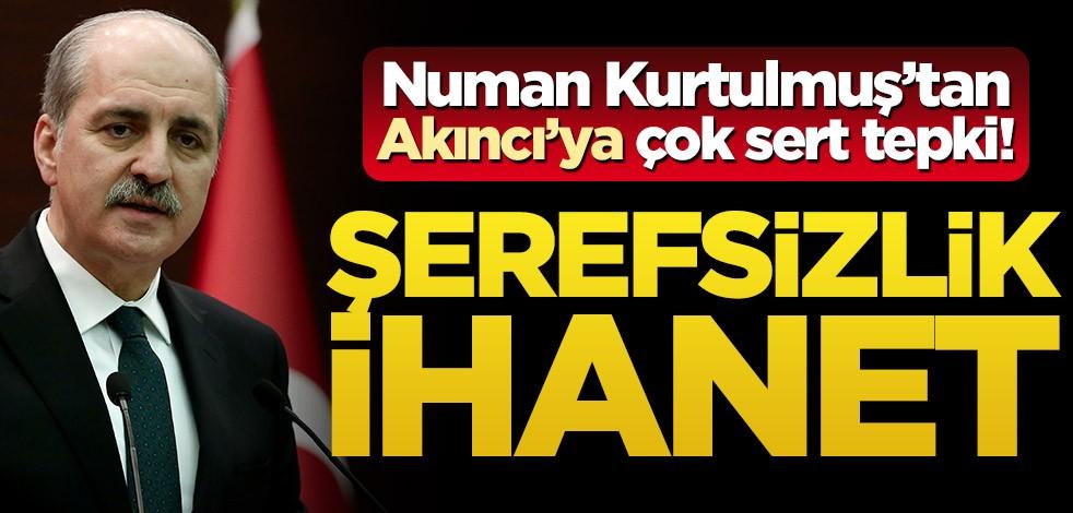 """Numan Kurtulmuş: """"Kıbrıs Türkiye'nin bölünmez bir parçasıdır"""""""