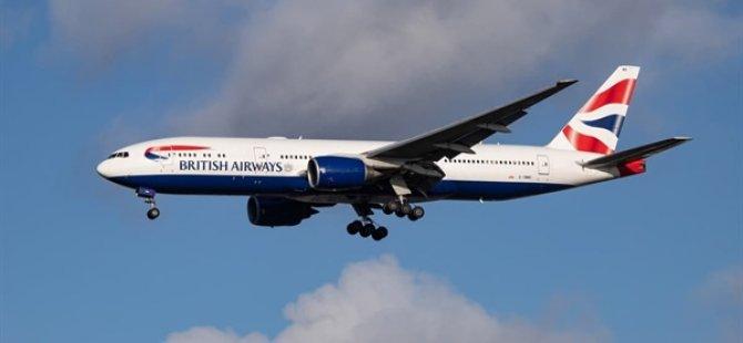 British Airways Uçağı Atlantik'i 5 Saatten Kısa Sürede Geçti