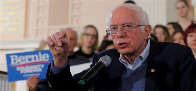 ABD'deki Ankette, Demokrat Başkan Aday Adayı Sanders İlk Kez Öne Geçti
