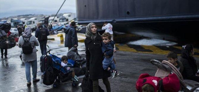 Yunan Hükümeti Haftada 200 Göçmeni Geri Göndermeyi Hedefliyor