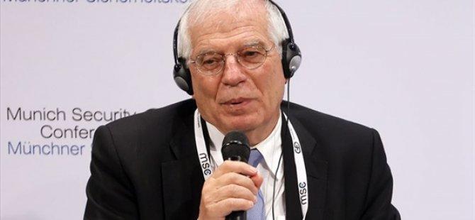 """AB yüksek temsilcisi Josep Borrell'den """"güçlü olma"""" çağrısı:"""