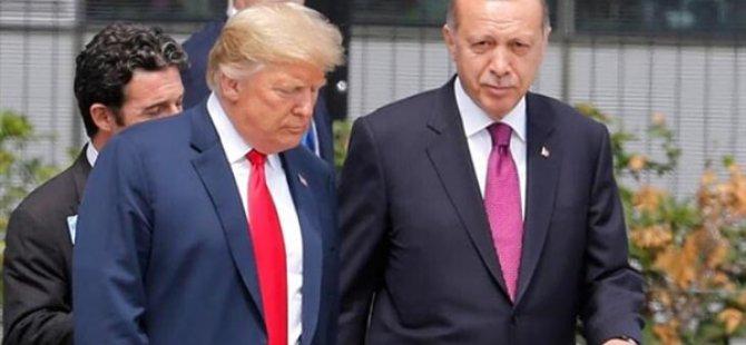 """""""Trump Erdoğan'a Türkiye'nin insani bir felaketi önlemek için gösterdiği çabalardan ötürü teşekkür etti"""""""