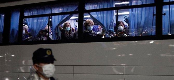 ABD, Japonya'da Karantinadaki Gemiden Vatandaşlarını Tahliye Etti