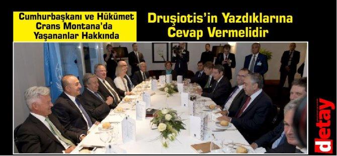 AKEL:Cumhurbaşkanı ve Hükümet Crans Montana'da Yaşananlar Hakkında Druşiotis'in Yazdıklarına Cevap Vermelidir