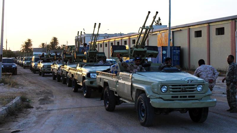 Libya Ulusal Ordusu: Türkiye'ye ait gemiyi imha ettik