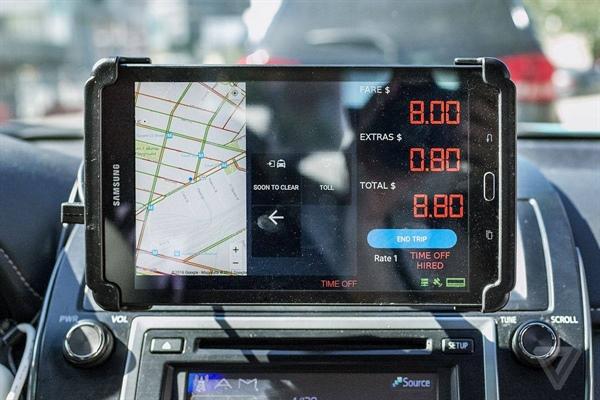 Trafik Dairesi tablet taksimetre uygulaması için çalışma başlattı