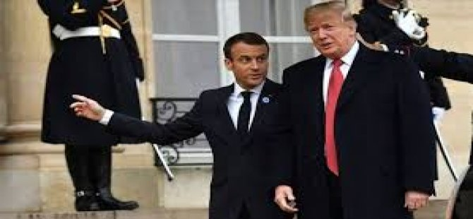 Trump Ve Macron, Telefonda NATO'yu Görüştü